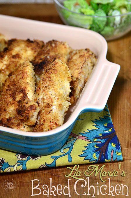 garlic butter baked chicken