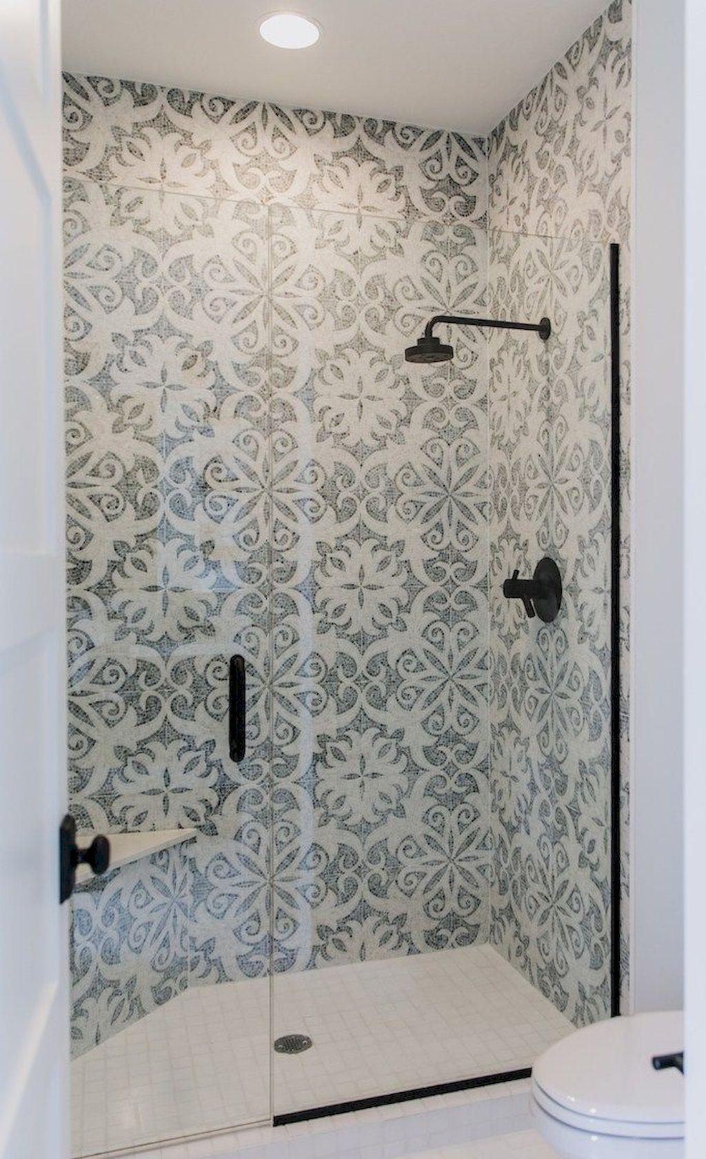 70 Cool Bathroom Shower Tile Remodel Design Ideas Insidexterior Simple Bathroom Designs Farmhouse Shower Tile Remodel