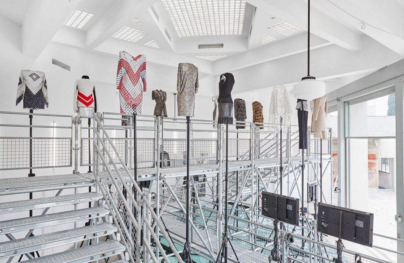 Work in Progress,Paco Rabanne exhibition - MUSE