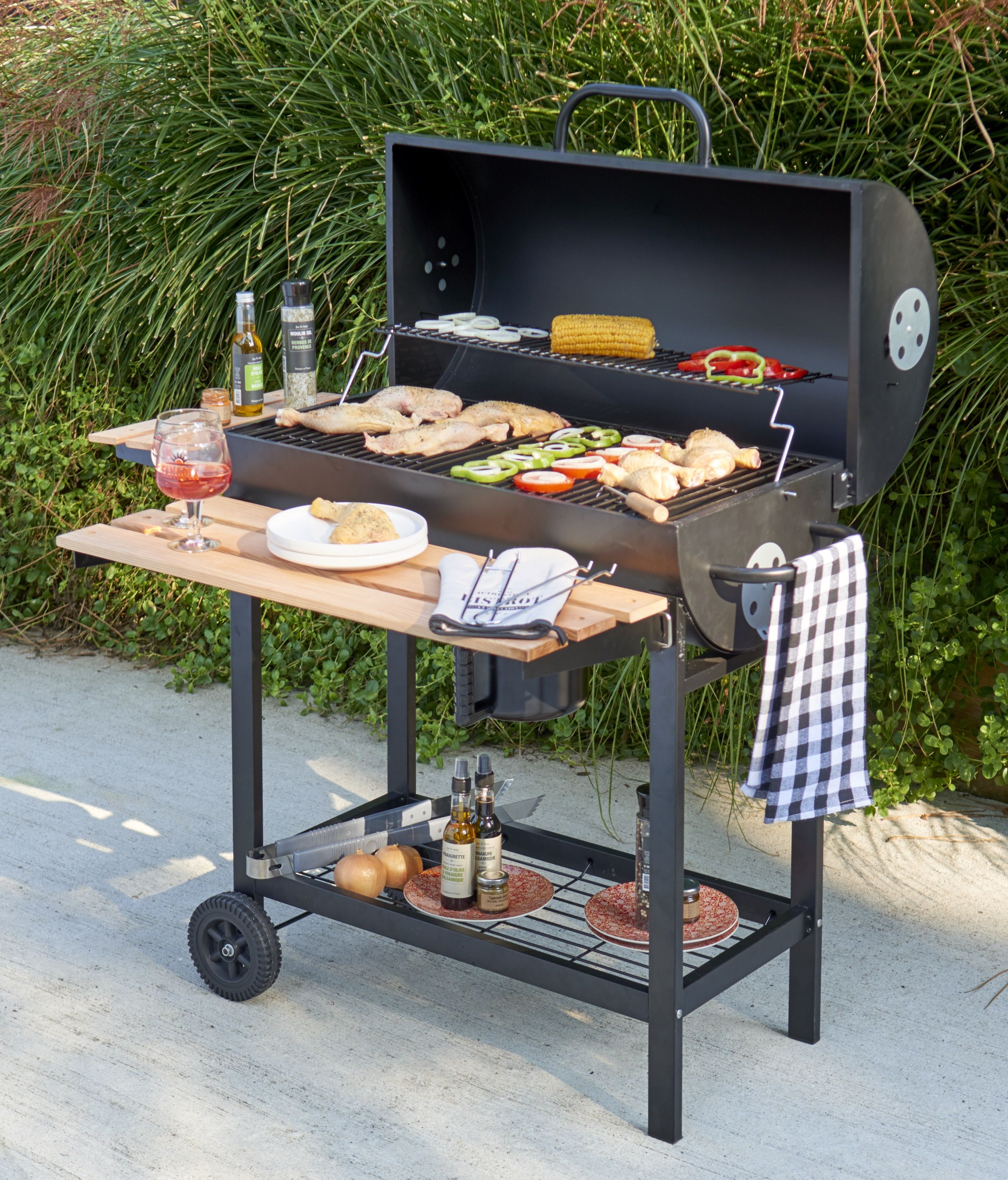 Barbecue Et Plancha Pas Cher Gifi Barbecue A Charbon Idees Barbecue Barbecue