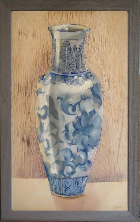 Stillness Of A Chinese Vase Vases As Still Life Pinterest