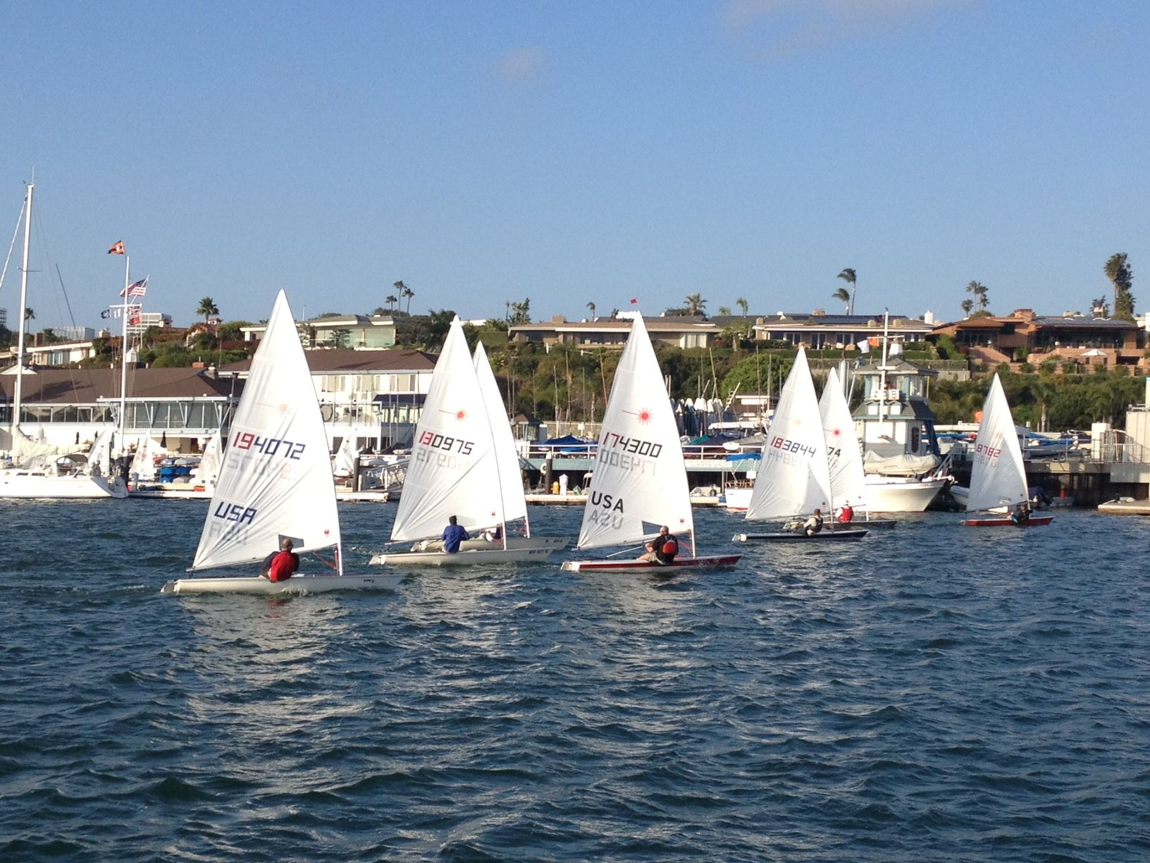 Balboa Yacht Club In Newport Beach