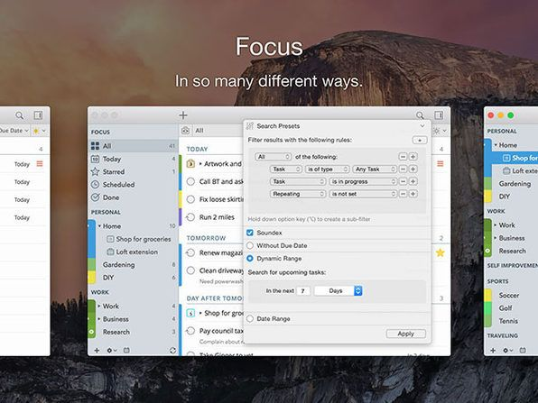 Daily Deal: 2Do Task Manager Lifetime License for $29.99 | Task. Management. Daily deals