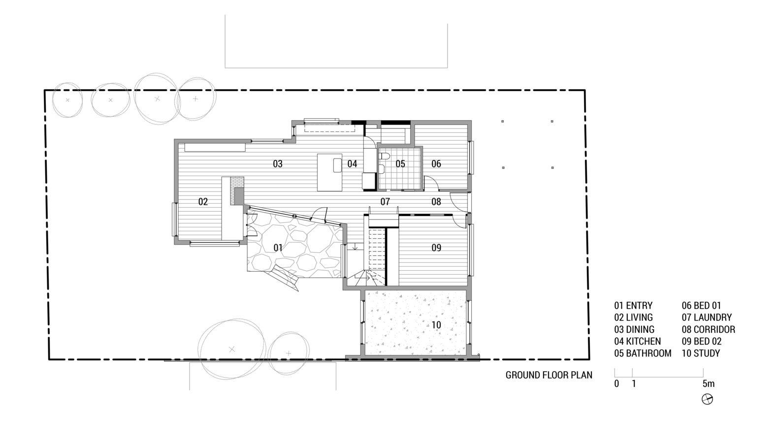 Gallery Of Ruby Foomann Architects 14 Floor Plans Ground Floor Plan Architect