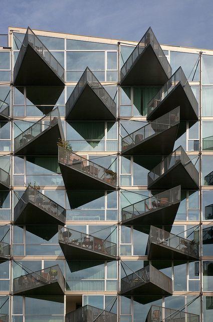 Denmark copenaghen orestad vm house architecture for Case architettura moderna