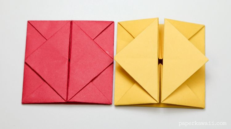 Origami basteln - Briefe und Geld hübsch verpacken   Bastelideen ...