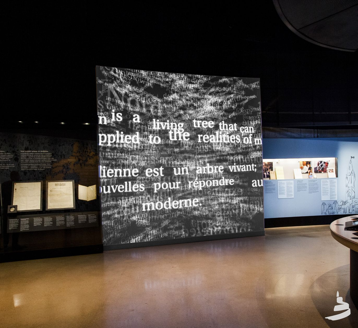 interactive exhibits for the canadian museum for human rights