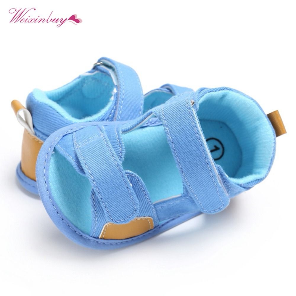 Fashion Toddler Newborn Baby Girl Boys Rubber Bandage First Walkers Kid Sandals