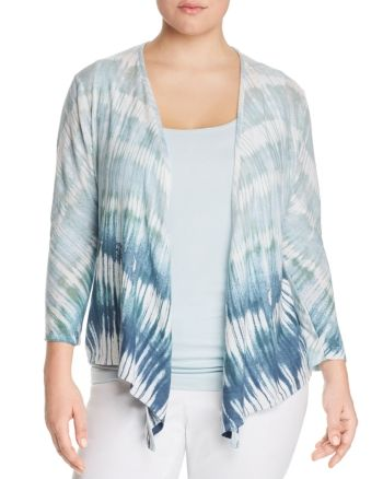 Nic+Zoe Plus Ombre Sea Four-Way Cardigan - Multi #travelwardrobesummer