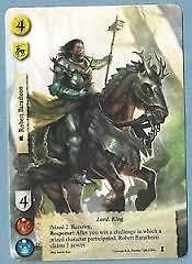 A game of #thrones lcg 1st #edition robert baratheon  alt art #promo card ,  View more on the LINK: http://www.zeppy.io/product/gb/2/191913199207/