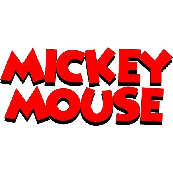 Mickey Mouse Name Logo Free Vector In Coreldraw Cdr Cdr