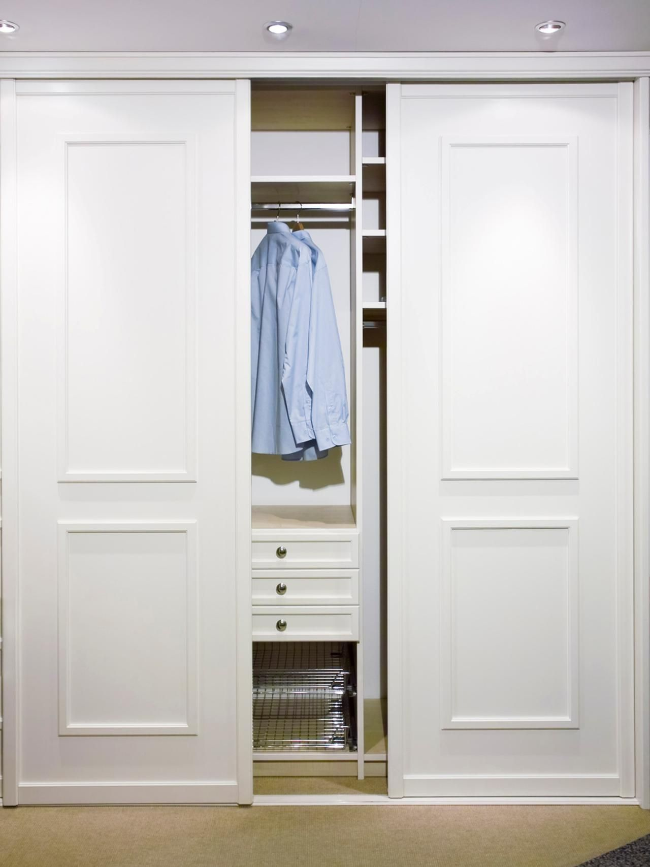 Closet Door Options Ideas For Concealing Your Storage Space