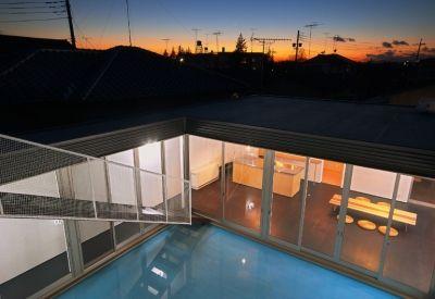 水庭の家 屋上から見た夕景 画像あり 家 住宅 注文住宅
