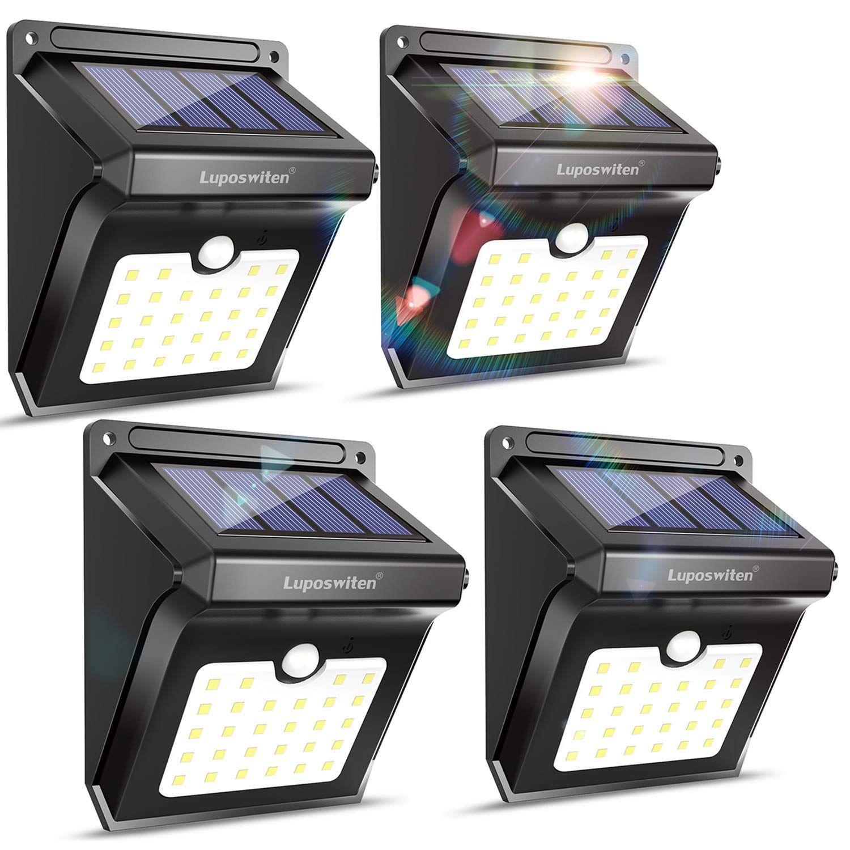 Top 10 Best Outdoor Solar Security Lights In 2020 Reviews Home Security Hqreview Outdoor Solar Lights Solar Security Light Outdoor Security Lights