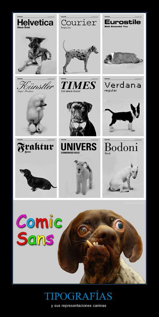 Comic Sans for ever... not