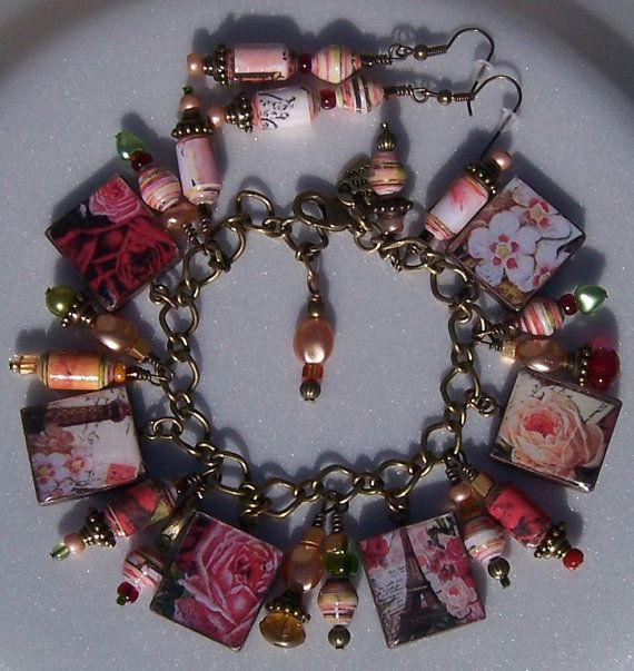 Popular Charm Bracelets 2: Best 25+ Paper Beads Tutorial Ideas On Pinterest