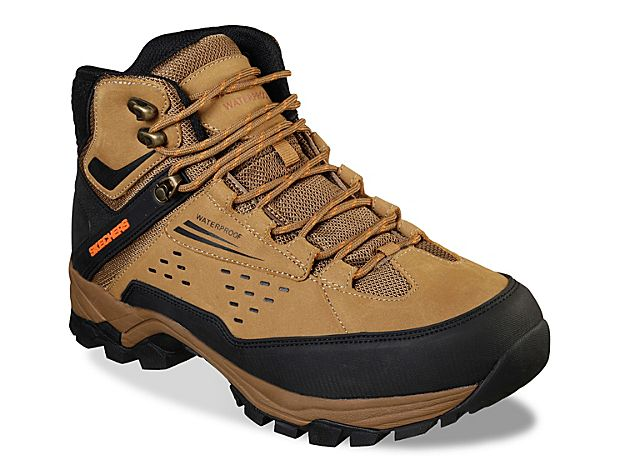Men Relaxed Fit Polano Norwood Hiking Boot TanBlack