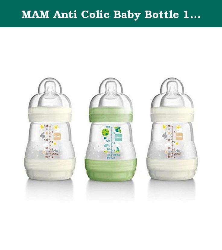 Mam anti colic baby bottle 160ml pack of 6 mam anti