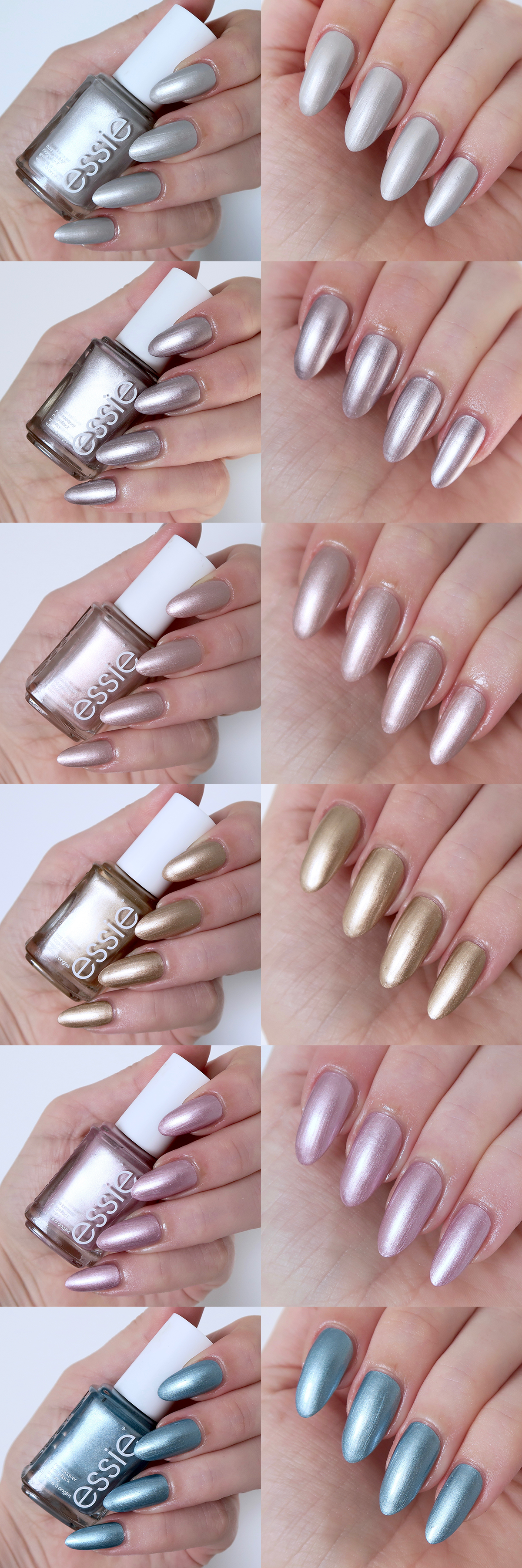 Essie Galaxy Metal Collection Review | Youtube, Comprar y Maquillaje