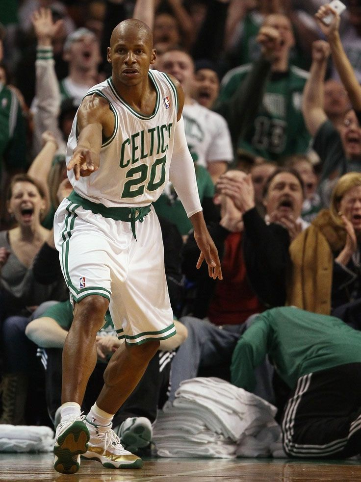 00bd7d7d569798 Ray Allen wearing the  Ring Night  Air Jordan 11