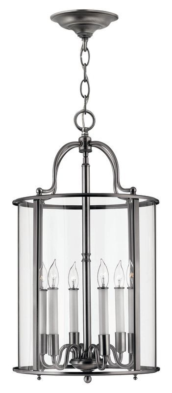 Hinkley lighting h3478 6 light indoor lantern pendant from the hinkley lighting h3478 6 light indoor lantern pendant from the gentry collection pewter indoor lighting pendants mozeypictures Images