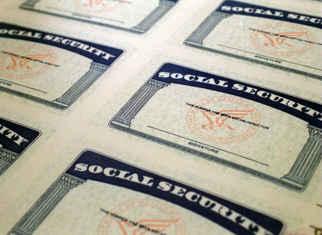 Home Social security benefits, Social security card