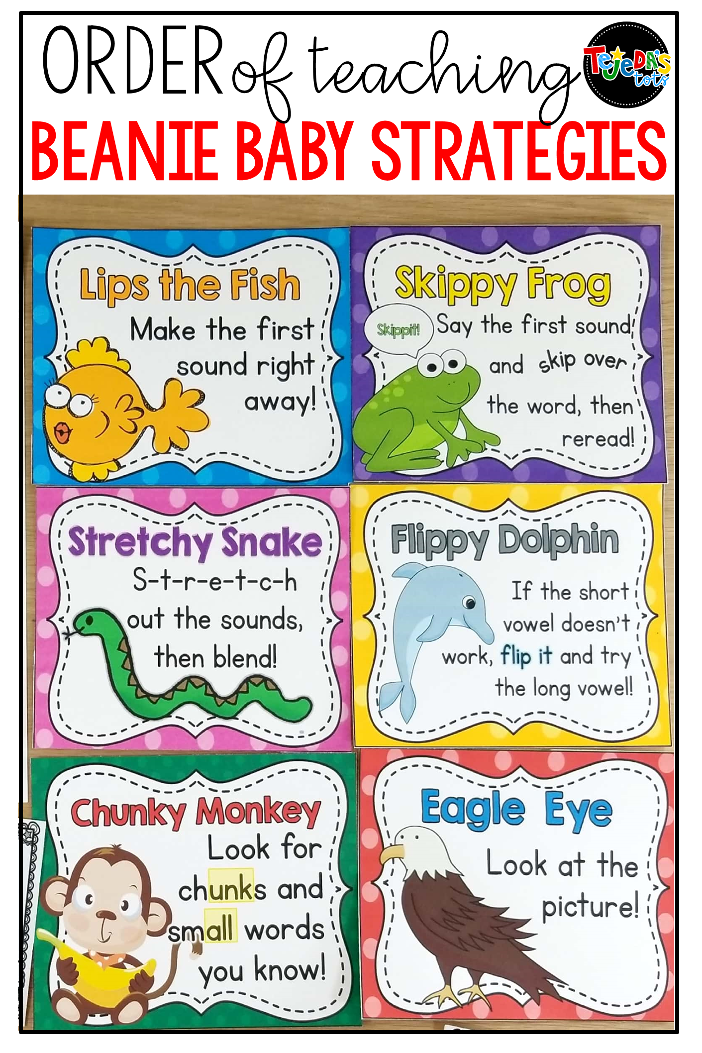 Order Of Teaching Beanie Baby Strategies