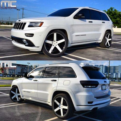 Mccustomsmiami Jeep Grand Cherokee Niche Wheels Black Wheels