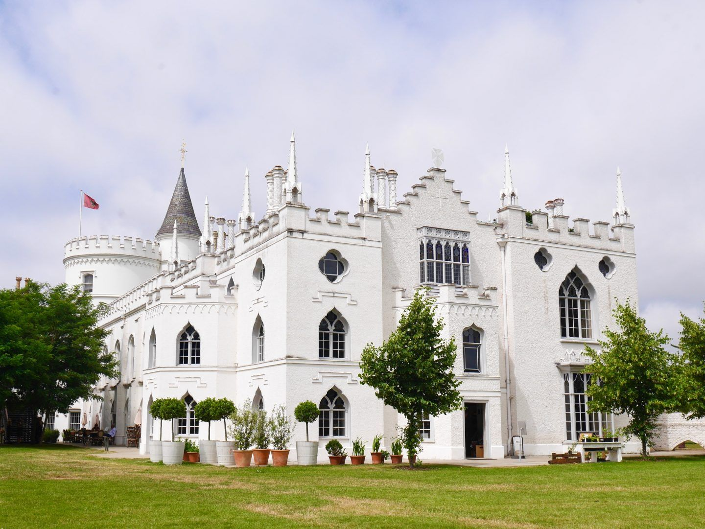 Strawberry Hill House Exploring A Gothic Gem The Curious Pixie Strawberry Hill House House On A Hill Strawberry Hill