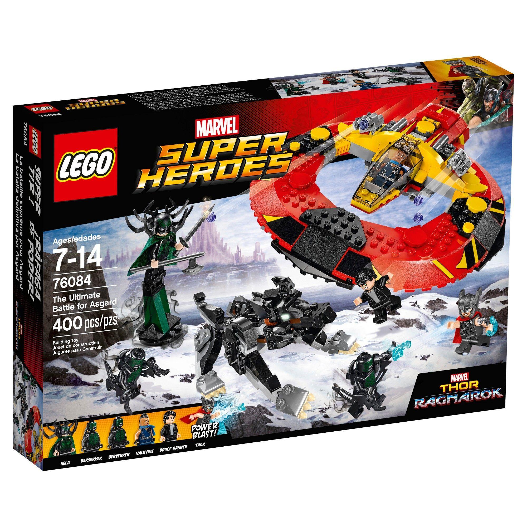 LEGO Marvel Super Heroes 76099 Black Panther contre Killmonger le combat dans