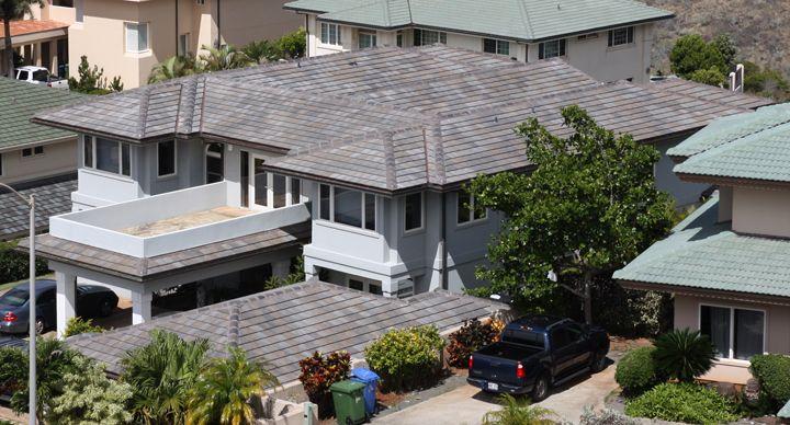 Boral Tile Hartford Slate Appalachian Blend West Oahu Roofing Patio
