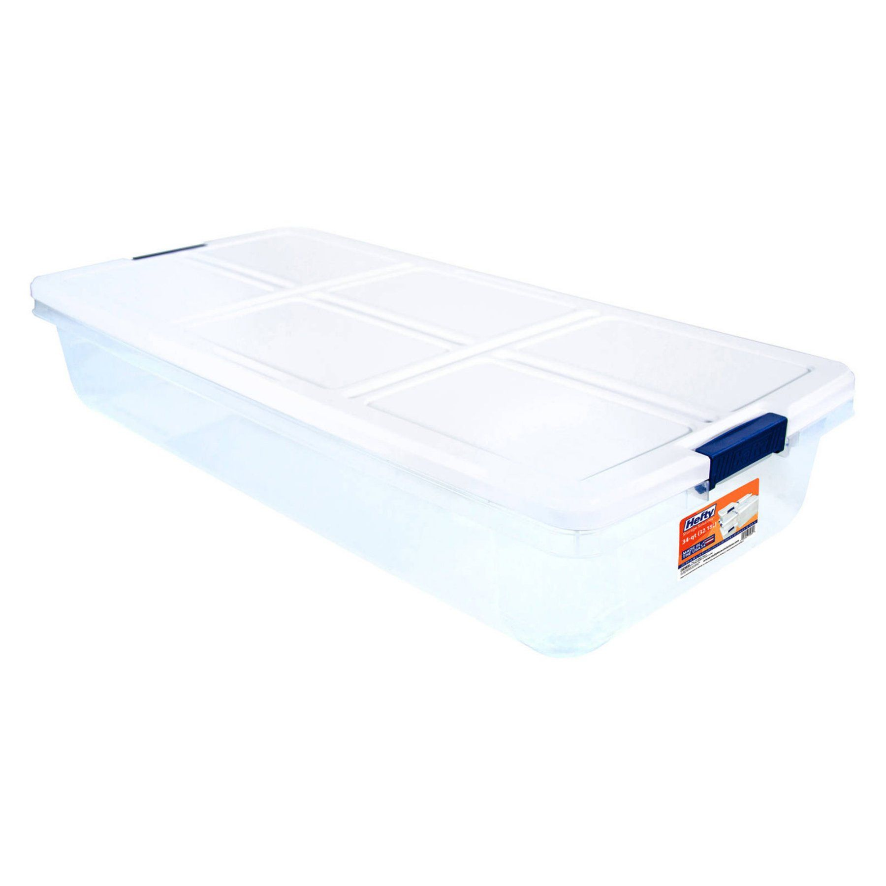 Hefty Modular Clear 52 Qt Storage Bin Ceeea6bed7bf451aa17da74e66c7ef5f Storage Bins Clear Storage Bins Under Bed Storage Containers