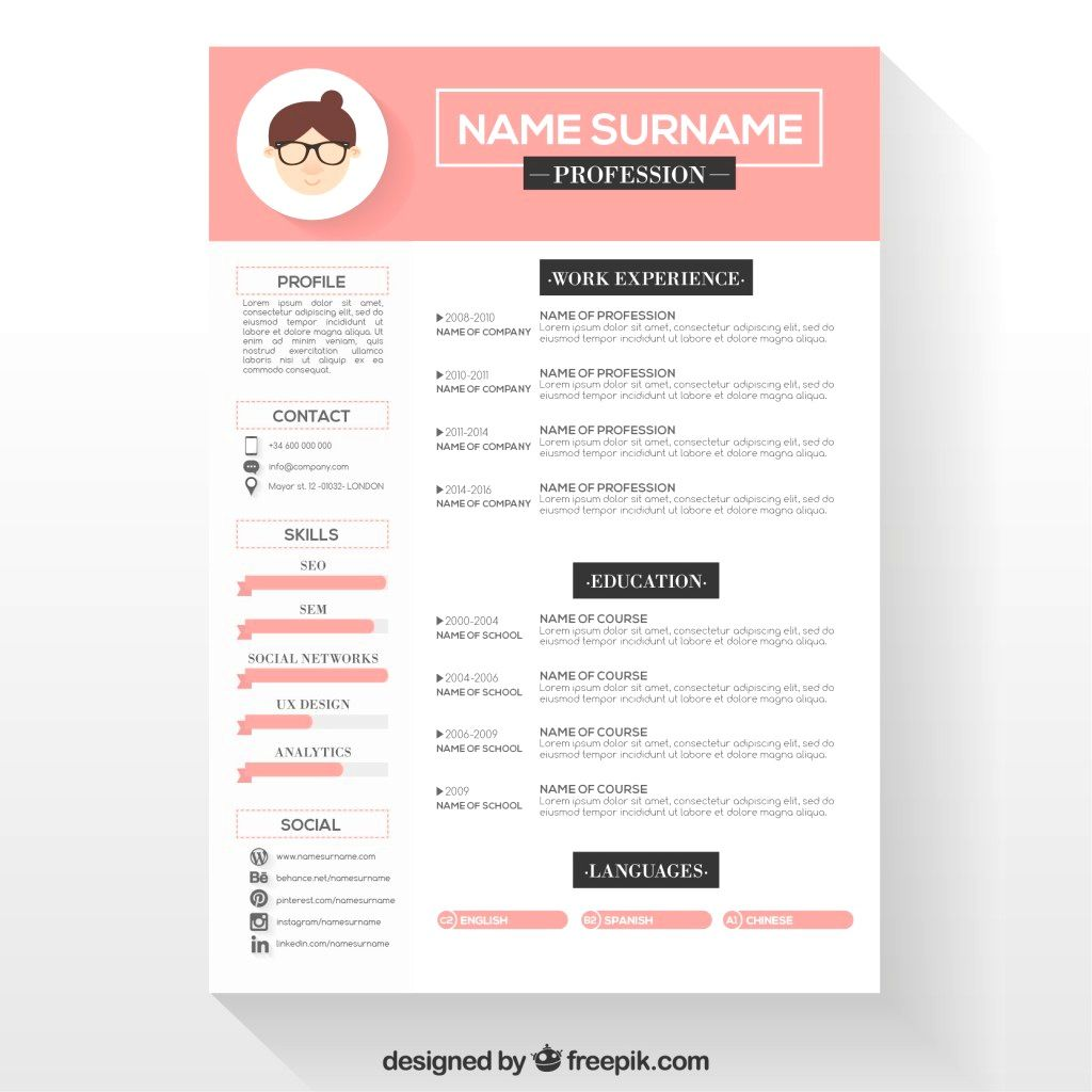 Resume Template Downloads Cover Letter Creative Resume Template Download Free  Cool Resume