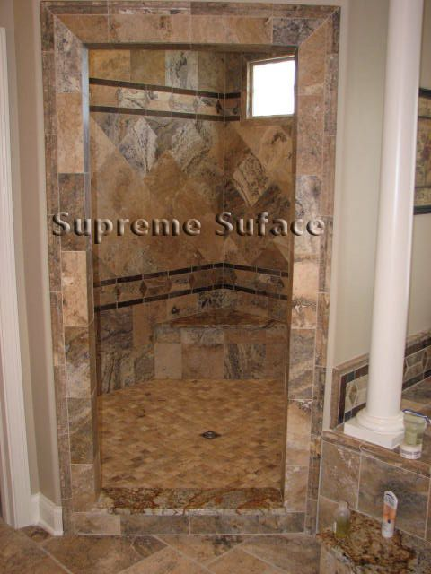 walk in shower tile design ideas