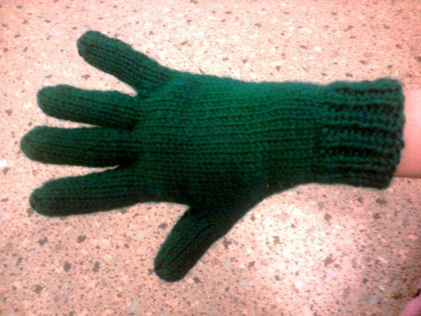 Knitting Patterns Galore Bryannas Two Needle Gloves Knitting
