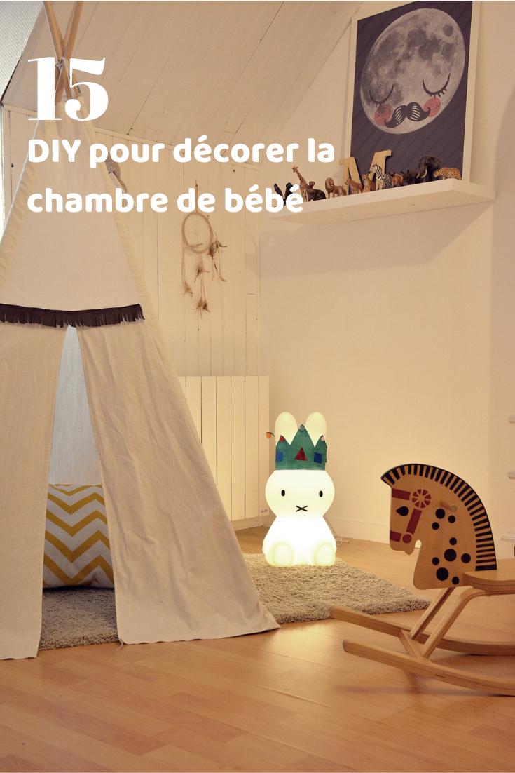 15 Diy Pour Decorer La Chambre De Bebe Tipis Chambre Enfant Chambre Bebe Chambre Enfant