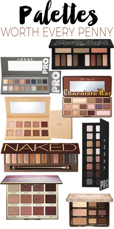 Eyeshadow Palettes Worth Every Penny.