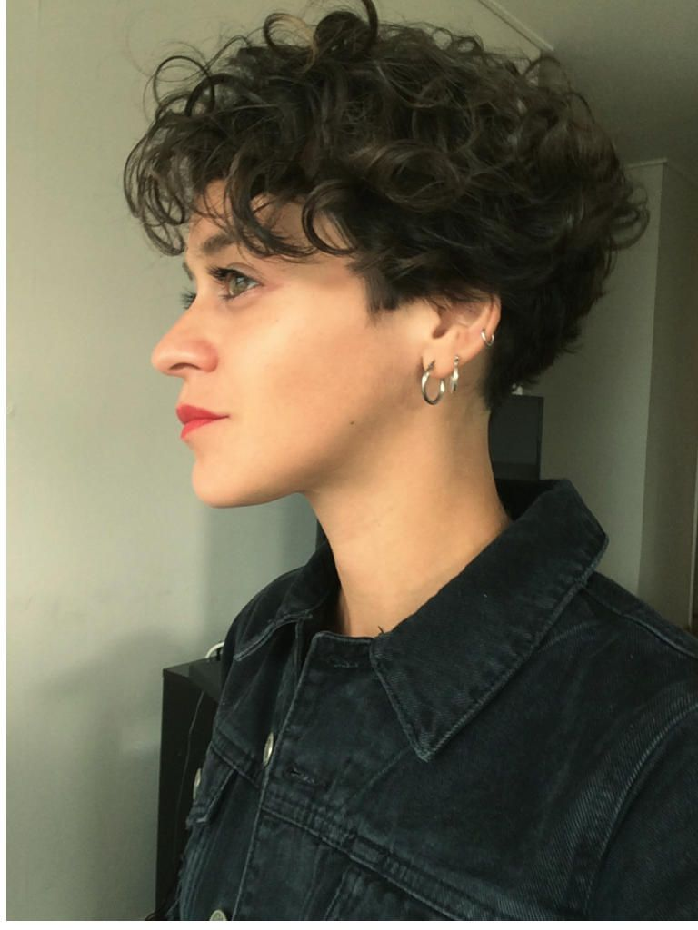 dauerwelle kurze haare dauerwelle haare kurze  Frisuren 2018  Kurze haare dauerwelle