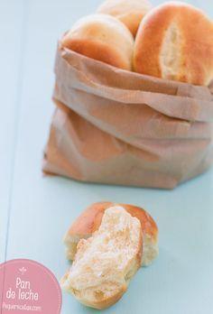 Pan de leche, tierno y esponjoso