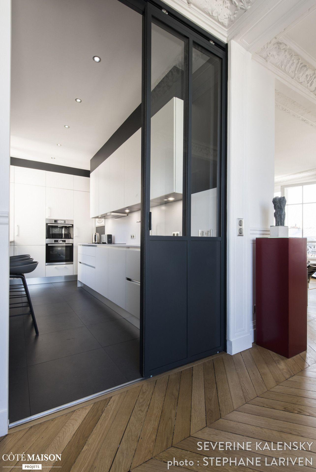 Nouvelle cuisine italienne dans un appartement parisien séverine kalensky côté maison design italien
