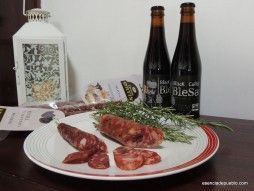 Comprar embutido de Cárnicas Ortín. Salchichon con setas #productosartesanos #Teruel #Tiendaonline