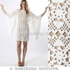 beautiful crochet dress.