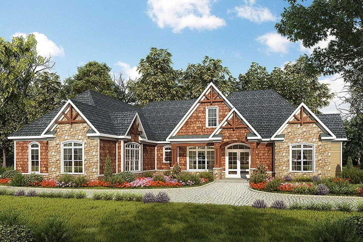 House Plan 6082 00042 Craftsman Plan 2 896 Square Feet 3 Bedrooms 2 5 Bathrooms Craftsman House Plan Craftsman House Craftsman House Plans