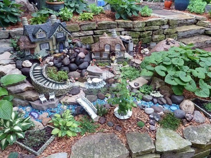 30 DIY Ideas How To Make Fairy Garden Gardens Container