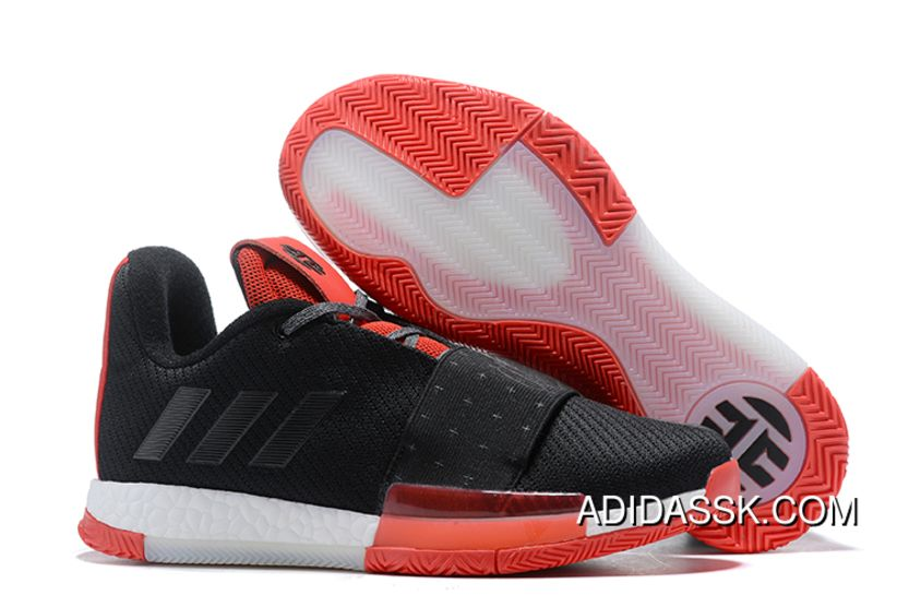 new arrival a55b0 15220 New Style Adidas Harden Vol. 3 Black Red