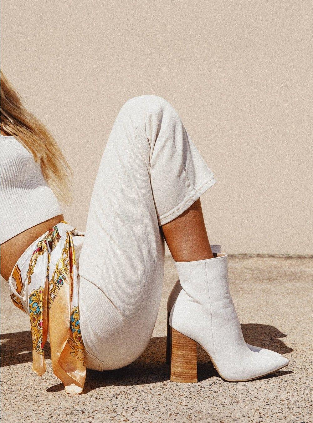 Billini   Tio Boots White   Princess