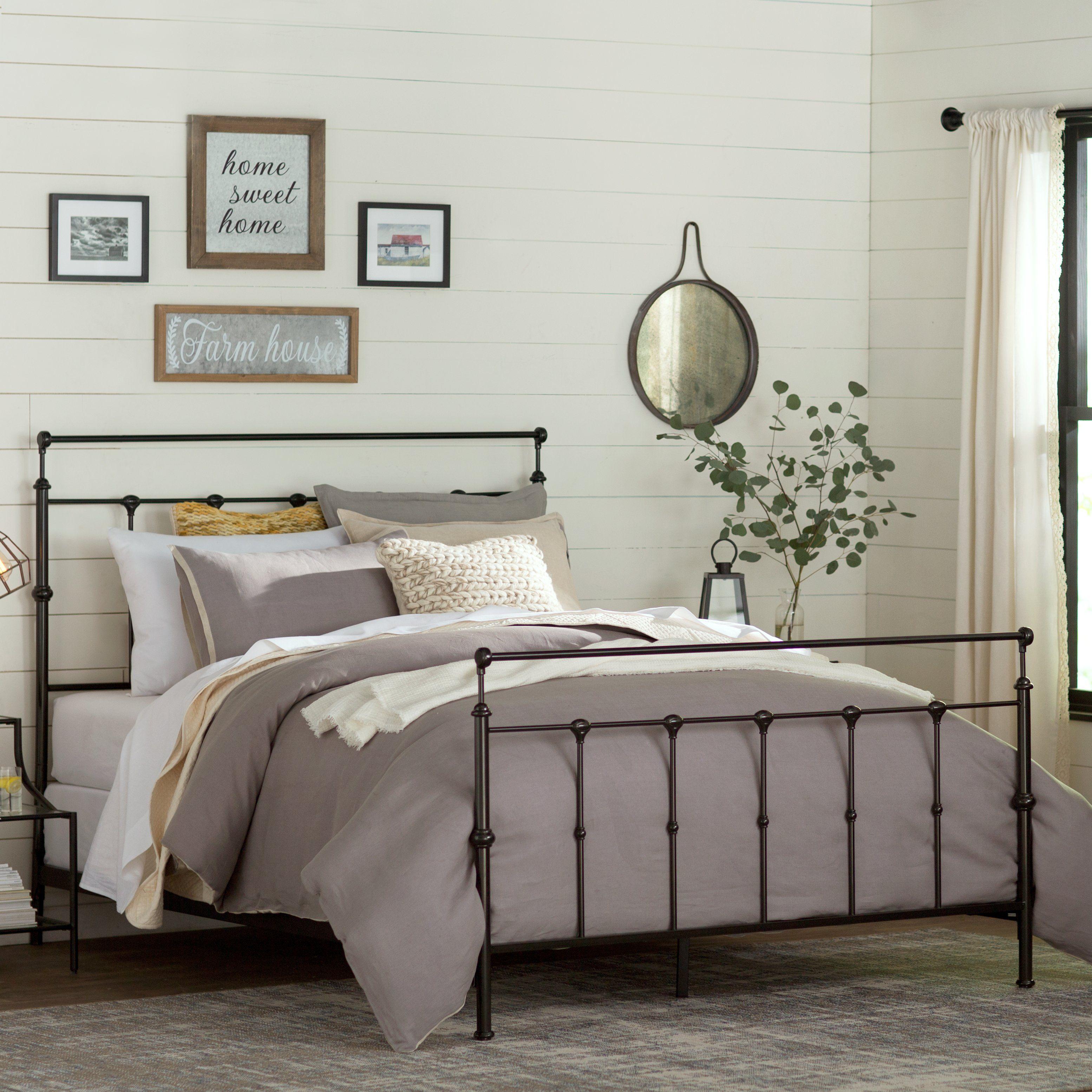 Gloucester Upholstered Standard Bed Country bedroom