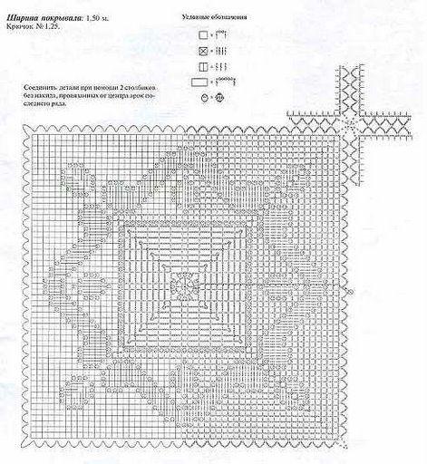 COLCHAS DE CROCHET - Maria M Castells - Picasa Web Albümleri