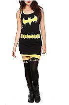 DC Comics Batgirl Costume Tank Dress Sku 153581
