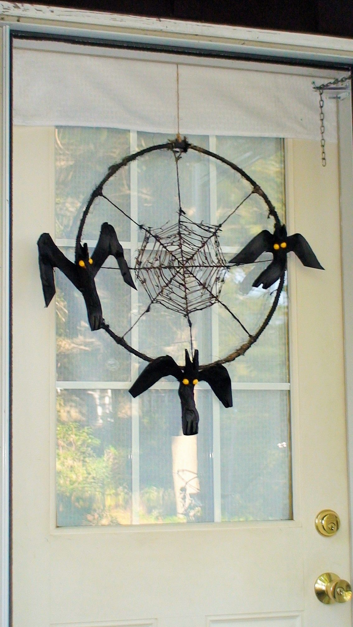 Bats I Created The First Only Bat Door Wreath Just In Time To Scare Pants Off You When Visit My Art Studio
